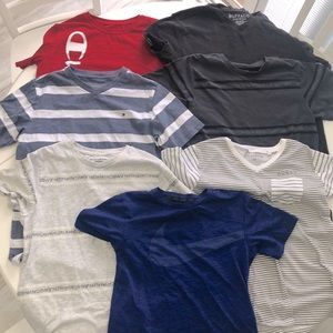 Bundle of 7 Boys Shirts